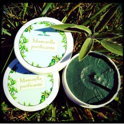 mascarilla facial purificante
