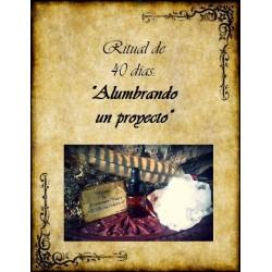 """Ritual aromaterapia """"Alumbrando un proyecto"""""""