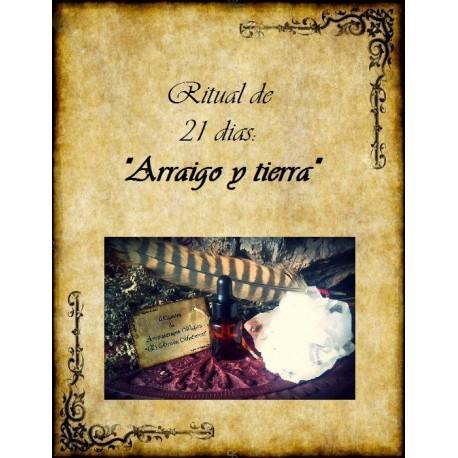 "Ritual de aromaterapia ""Arraigo y Tierra"""