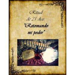 """Ritual de aromaterapia """"Retomando mi poder"""""""