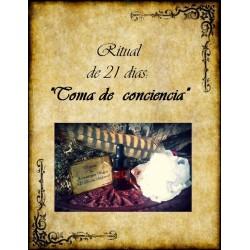 """Ritual de aromaterapia """"Toma de conciencia"""""""